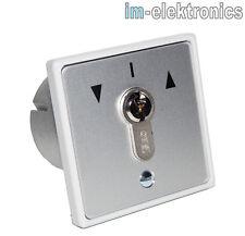 Schlüsseltaster Schlüsselschalter UP Unterputz geba MR 1-2T Tor Antrieb Motor