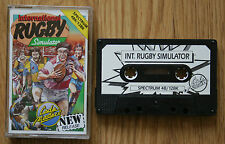 47808 International Rugby Simulator - Sinclair Spectrum 48k () 2104