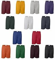 "Rawlings Mens Size SM-5XL NEW 7.5"" Flatback Mesh Moisture Wick Shorts NO POCKET"