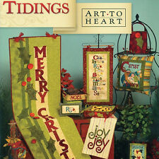 TIDINGS Nancy Halvorsen Christmas Applique NEW BOOK