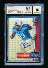 BGS 9.5 KENDALL WRIGHT 2012 TOPPS FINEST SUPERFRACTOR AUTO RC #D 1/1 **TITANS**
