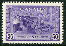 CANADA # 261 F-VF Very Light Hinged Issue - MUNITIONS FACTORY - S5718