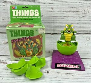 Milton Bradley MB T.H.I.N.G.S.™ EGGZILLA Skill Game Toy Vintage 1986 In Box