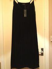 M & S Autograph Ladies Crushed Velvet Silk Mix Cocktail Dress -S18- Khaki - BNWT