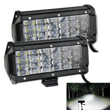 2X 72W 24 Chip Led Work Light Auxiliary Off Road Fog Driving DRL Lamp Waterproof