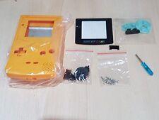 Nintendo Gameboy Color GBC reemplazo amarillo nuevas herramientas de Carcasa Shell Game Boy