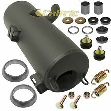 EXHAUST SILENCER & KIT Fits POLARIS SPORTSMAN 800 EFI FOREST 2014 w/Donuts