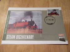 2004 First Day Cover British Steam North British 4-8-2-T Gambia