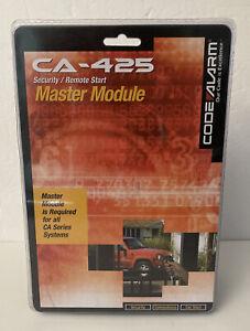 Code Alarm Security-Remote Starter Master Module CA-425 New & Sealed
