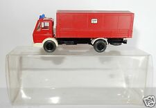 WIKING HO 1/87 CAMION MB MERCEDES 1617 POMPIERS FIRE FEUERWEHR BOMBEROS IN BOX