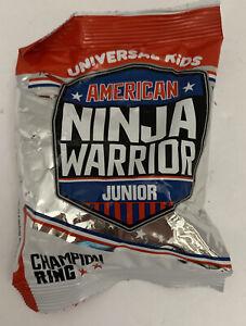 New Arby's Kids Meal Toy American Ninja Warrior Junior Champion Ring 2021 NIP