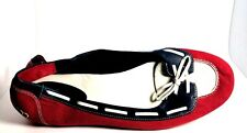 COLE HAAN Red White Blue Canvas Loafer Ballet Flat SIZE 10