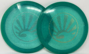 Set of (2) DGA SP Line Banzai 167-9g Green w/Foil ICON Stamps FREE SHIPPING