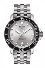 TISSOT SEASTAR 1000 POWERMATIC 80 Silver Dial Men's Watch T120.407.11.031.00