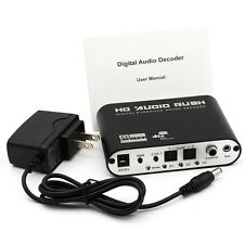 5.1 Channel AC3/DTS Digital Audio Converter Gear Surround Sound Rush HD Decoder