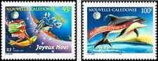 Timbres Religion Noel Nouvel An Nouvelle Calédonie 744/5 ** année 1997 lot 8768