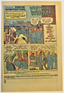 # 5 1973 HARLEM GLOBE TROTTERS COVERLESS COMIC - combined shipping