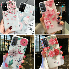 F Samsung Galaxy S20 Ultra S20 Plus S20 Floral Flower Cute Girl Phone Case Cover
