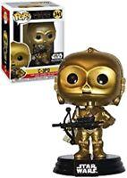 Rare C-3PO Smuggler's Bounty Star Wars Funko Pop Vinyl New in Box + Protector