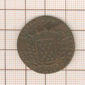 Auvergne: Token Of M. Combe, Provost de La Mint Riom 1693