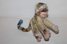 Steiff Affe Monkey Mohair Vintage Schmusetier Kuscheltier Stofftier 17cm TOP ALT