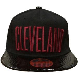 CLEVELAND Embroidered Snapback Adjustable Baseball Cap Hats LOT Buy 3 get 1 free