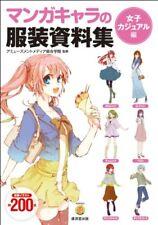 How to Draw Girl's casual Fashion Japanese Book manga sketch anime costume
