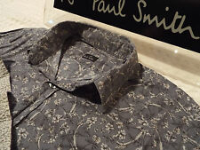 """PAUL SMITH Mens Shirt 🌍 Size S (CHEST 36"""") 🌎 RRP £95+ 📮 FLORAL LIBERTY STYLE"""