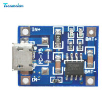 20PCS 5V 1A TP4056 Micro USB 18650 Lithium Battery Charger Board Power Module