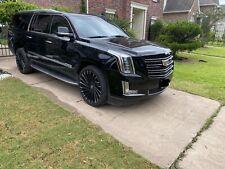 Cadillac Escalade Platinum GM OEM Front Grille 2015i-2019 Black And Chrome