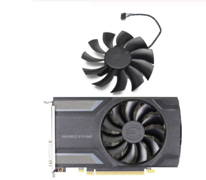 For EVGA GeForce GTX 1060 ITX 960 950 GAMING Video Card Cooling Replace Fan