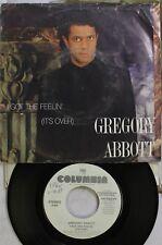 Soul Picture Sleeve Promo 45 Gregory Abbott - I Got The Feelin' / I Got The Feel