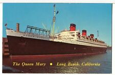 1963 - The RMS QUEEN MARY Docked in New York City Ships Postcard