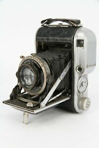 ENSIGN 220 AUTO-RANGE with CARL ZEISS 75mm F/2.8 TESSAR - Professionally Checked