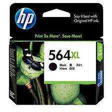 GENUINE Original HP 564XL BLACK Ink Cartridge Toner CN684WA-2