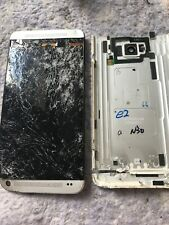 HTC One Phone Smashed.  Spares