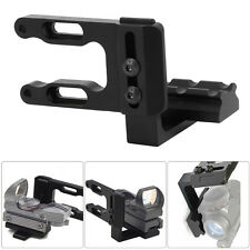 Mini CNC Machined Bow Sight Mount Red Dot Laser Reflex Sight Scope Bracket Hot