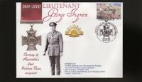 AUSTRALIAN ANZAC VICTORIA CROSS 100th ANNIV COV, Lt GEORGE INGRAM