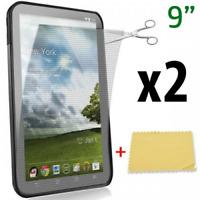 """2pcs Film de protection écran UNIVERSEL 9"""" pouces screen Tablette/GPS/Portable"""