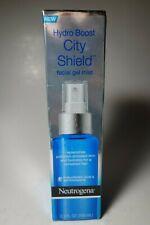 Neutrogena Hydro Boost City Shield Facial Gel Hydrating Mist 3.3 Fl oz