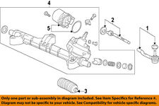 HONDA OEM Steering Gear-Outer Tie Rod End 53560T2AA01