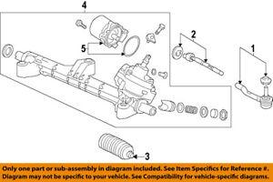 HONDA OEM Steering Gear-Outer Tie Rod End 53540T2AA01