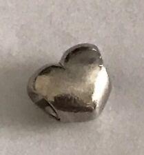 PANDORA  Smooth Silver Heart Bead 790137