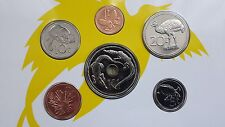 PAPUA NEW GUINEA 1995 20 years Independence Uncirculated Coin Set in sleave UNC