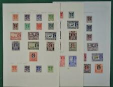 BURMA STAMPS SELECTION ON 3 ALBUM  PAGES  (P36)
