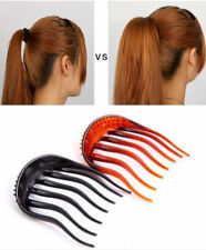 Slides Hair Comb Hooked Comb Hair Twister Bouffant Topsy Tail Hairdresser's Aid