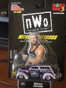 1998 NEW WWE/WCW/NWO 1/64th SCALE DIE-CAST NITRO-STREETROD - BRIAN ADAMS [MOC]