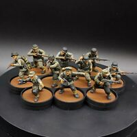Painted 28mm Bolt Action german Infantry ×10 Tabletop Standard Warlord Games