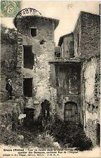 CPA   Givors(Rhone) - Tour en ruines dans le vieux Givors appelé  (450750)