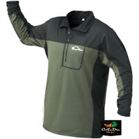 DRAKE WATERFOWL SYSTEMS EST BASE LAYER QUARTER ZIP SHIRT UNDERWEAR TOP